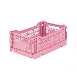 Cesta piegevole mini baby pink