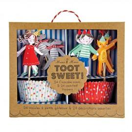 Cupcake kit bambini 24 pezzi