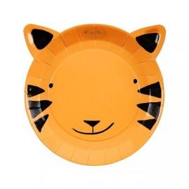 Piatto tigre 12 pezzi