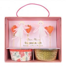 Cupcake kit fairy 24 pezzi