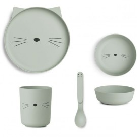 Set pappa gatto menta