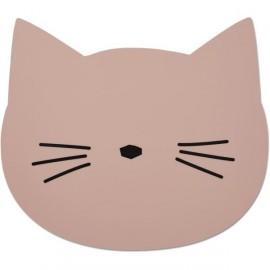 Tovaglietta silicone gatto rosa