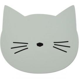 Tovaglietta silicone gatto menta