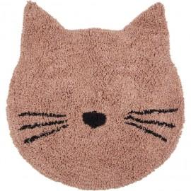 Tappeto gatto rosa