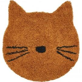 Tappeto gatto mostarda