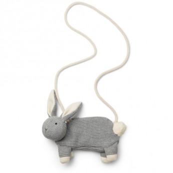 Borsetta coniglio grigio