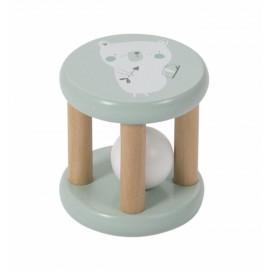 Roller rattle legno menta