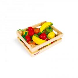 Cassetta 12 frutti legno
