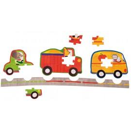 Puzzle strada