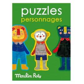 Puzzle 4 personaggi