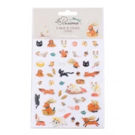 Stickers 46 animali