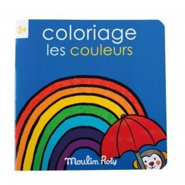 Quaderno da colorare colori