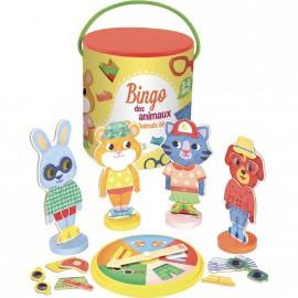 Secchiello bingo degli animali