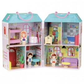 Valigetta casa delle bambole