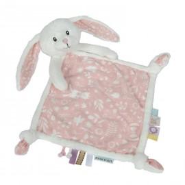 Doudou coniglietto rosa Little dutch