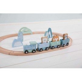 Pista trenino in legno Little dutch