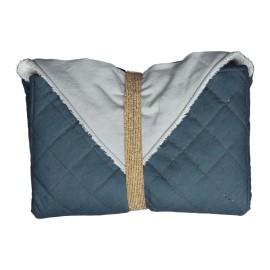 Fasciatoio portatile blu fabelab