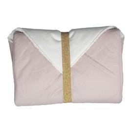 Fasciatoio portatile rosa fabelab