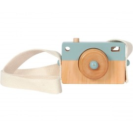 Macchina fotografica little dutch blu in legno