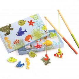 Gioco magnetico pesca djeco