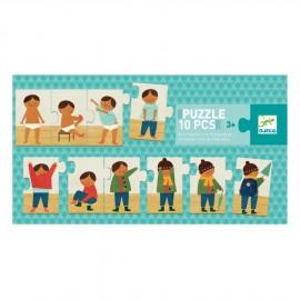 puzzle mi vesto djeco