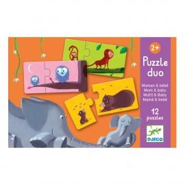 Puzzle mamma e bebè djeco