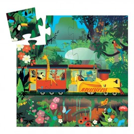 Puzzle la locomotiva djeco