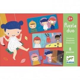 Puzzle duo le emozioni djeco