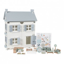 Casa delle bambole in legno little dutch con accessori