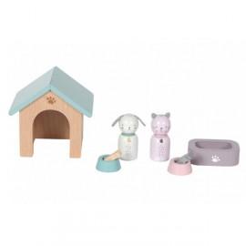 Accessori casa delle bambole little dutch animali