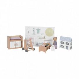 Accessori casa delle bambole Little dutch - Nursery