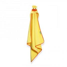 Prodotti bagnetto neonato Zoocchini - Asciugamano con cappuccio anatroccolo