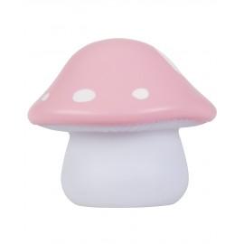 Lampada funghetto rosa