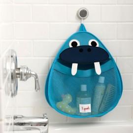 Portaoggetti bagno o contenitore portagiochi da bagno 3Sprouts fantasia Tricheco