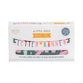 Letter Banner colorato