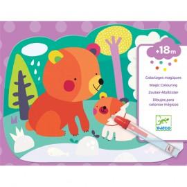 Disegni da colorare  Djeco Nascosto nel bosco