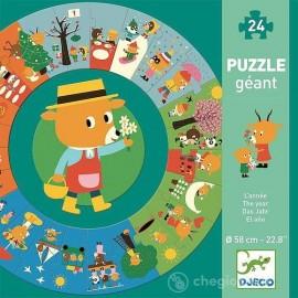 Puzzle gigante l'anno Djeco
