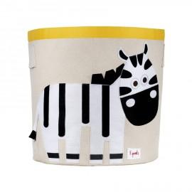Cesto portatutto Zebra - Cesti portagiochi fantasia animali 3Sprouts