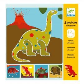 Stencil dinosauro djeco