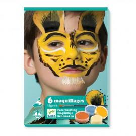Set trucco tigre djeco