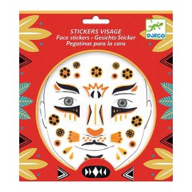 Stickers viso djeco leopardo