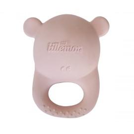Dentarello naturale orsetto rosa eef lillemor