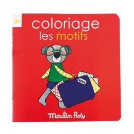 """Album da colorare """"i motivi"""" Moulin roty"""