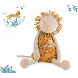 Peluche moulin roty leone gigante