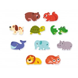 Puzzle duo animali djeco