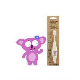 Spazzolino per bambini in bambù jack n' jill koala