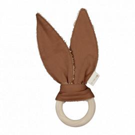 Anello dentizione bunny fabelab cinnamon
