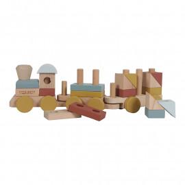 Trenino little dutch in legno pure&nature