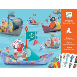 Origami djeco Barche galleggianti