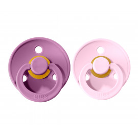 Pack 2 succhietti BIBS lavender baby pink